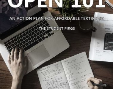 Open 101: An Action Plan for Affordable Textbooks